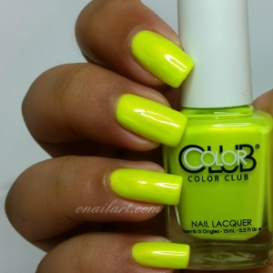 Not-so-mellow yellow Color Club