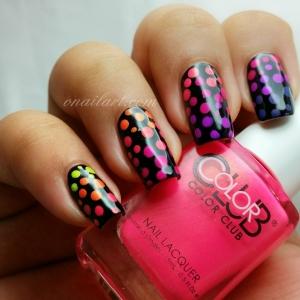 Dooting Gradient Nails - New Poptastic Color Club
