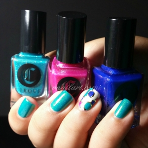 Kontiki Nails reproduction d'Olga Dibrova
