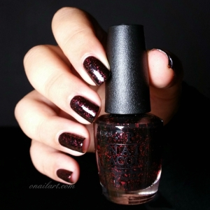 """Today I Accomplished Zero"" by OPI - Coca-Cola Collection"