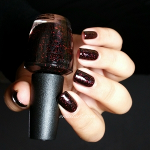 """""""Today I Accomplished Zero"""" by OPI - Coca-Cola Collection"""