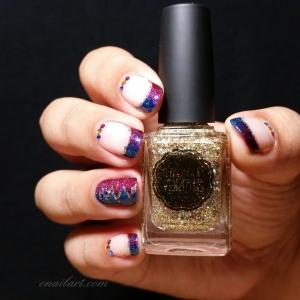 """Nail art Chic&Glam Circus inspiration """"La Dompteuse"""" de Titelle Couture"""