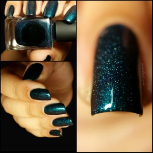 In teal we Trust by Il était un vernis